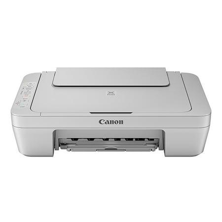 bcb4025cd13f Canon PIXMA MG3020 Wireless Inkjet All-In-One Printer - Gray - Walmart.com