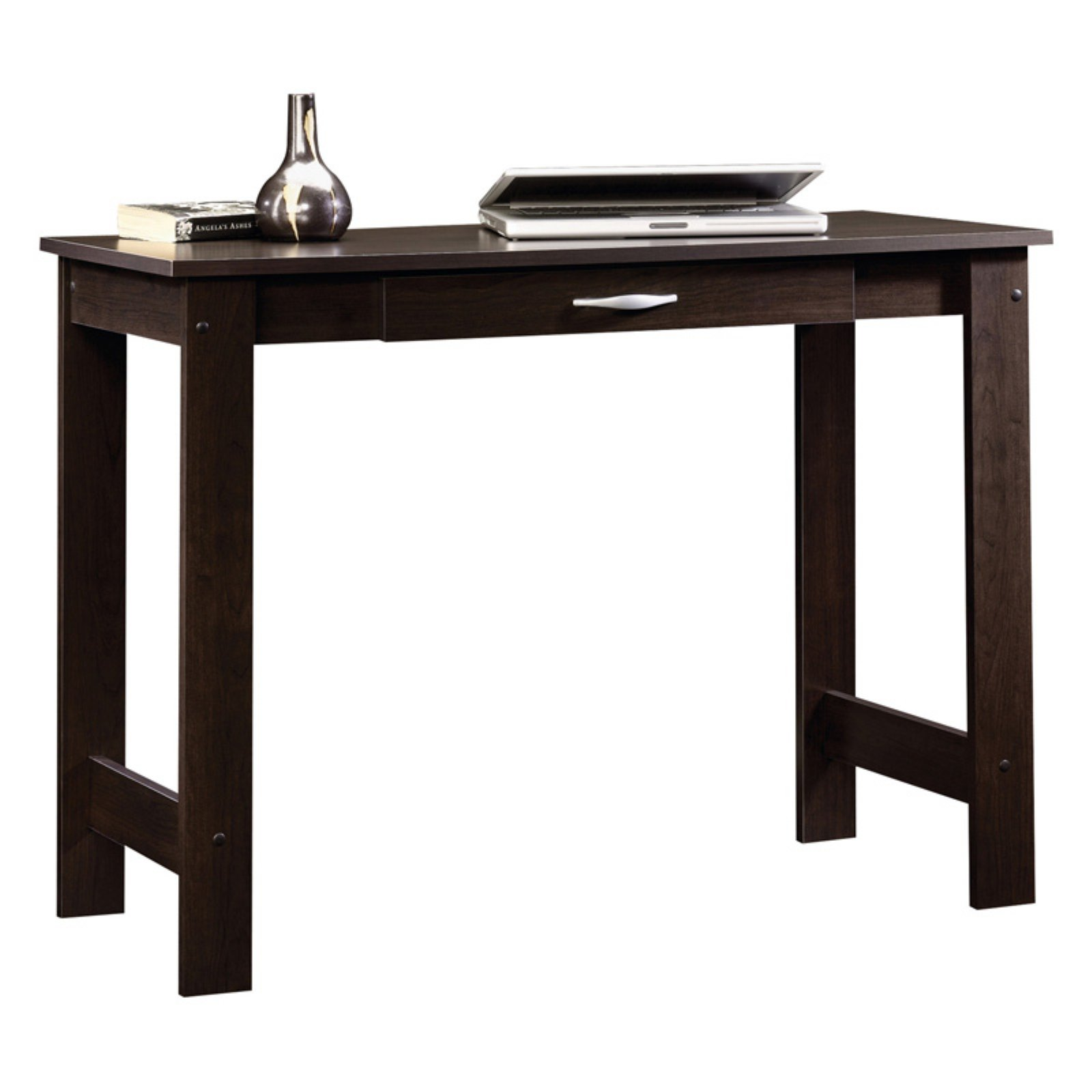 Sauder Beginnings Writing Table, Cinnamon Cherry Finish