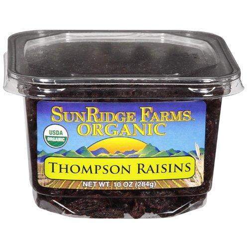 Fruit Raisins Tub Organic 10 OZ (Pack Of 8)