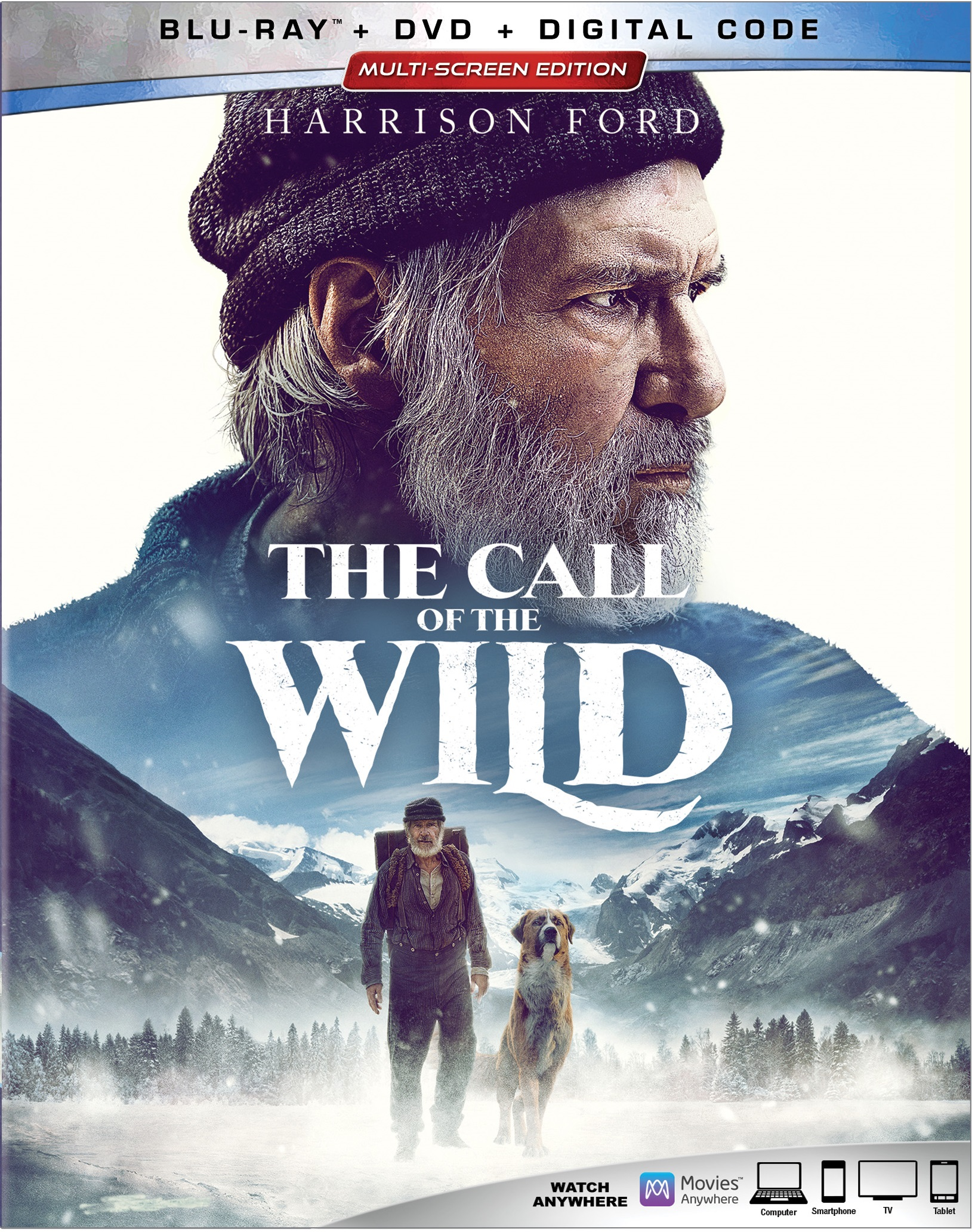 The Call Of The Wild (Blu-ray + DVD + Digital Copy) - Walmart.com ...