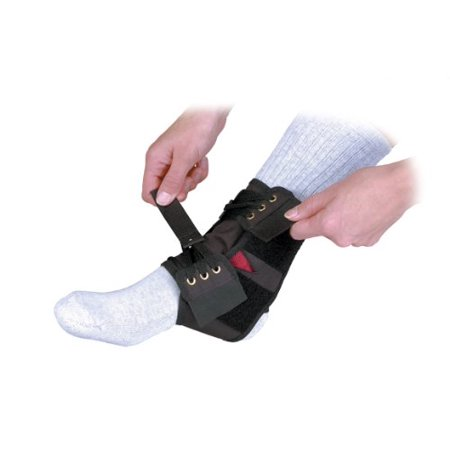 Black Power Wrap Ankle- X-Large, Made in the USA By Core