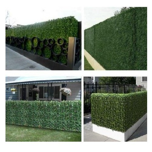 E Joy 24 Piece Artificial Topiary Hedge Plant Privacy Fence Screen Greenery Panels Suitable For Both Outdoor Or Indoor Garden Or Backyard And Home Decorations Boxwood 20 L X 20 H Walmart Com