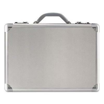 Solo Expandable Computer Attache (Solo Aluminum Attache Case, 17-1/2 x 5 x 12-1/2, Silver)