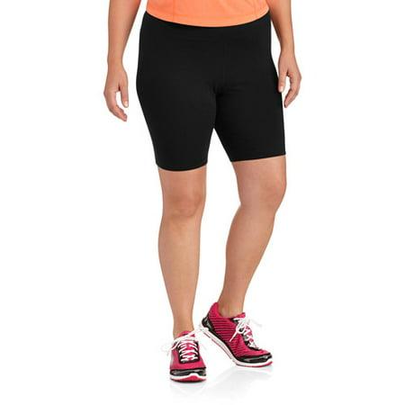Danskin Now Women's Plus-Size Cotton Bike Short
