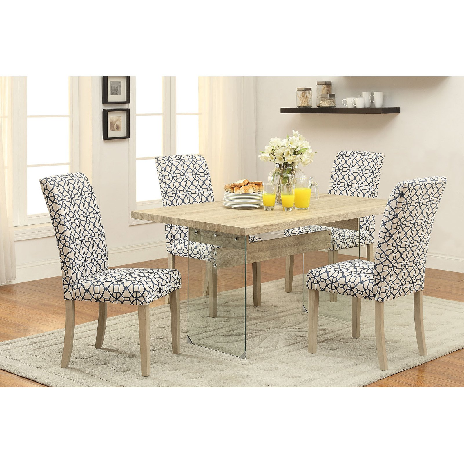Acme Glassden Light Oak Dining Table