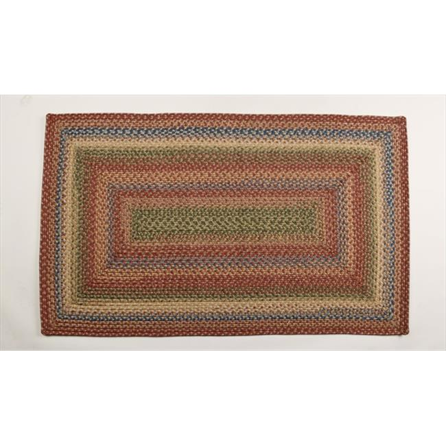 Homespice Decor 310019 Venetian Glass Ultra Durable Braided Rugs - Rectangle