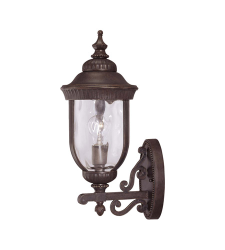 Savoy House 5-60322-40 Castlemain Wall Mount Lantern Walnut Patina 3 - C Bulbs