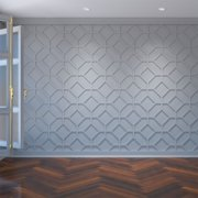 Small Cameron Decorative Fretwork Wall Panels in Architectural Grade PVC