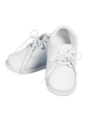 Product Image Angels Garment Boys White Leather Lace Up Closure Dress Shoes  2 Baby-5Toddler b220d0639