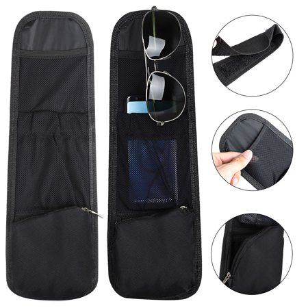 Car Waterproof Side Seat Organizer, Multi-Used Black Fabric Travel Car Seat Storage Bag 3 Pockets, Multi-Pocket Minivan Storage Bag, Universal for all Car/Truck Models for storing Cell Phone and (Cheap Used Minivans For Sale By Owner)
