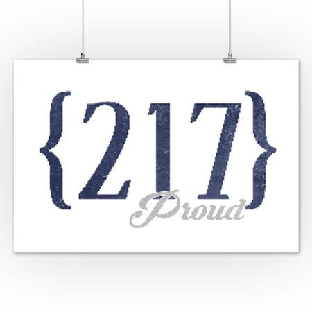 Springfield Illinois Area Code Blue Lantern Press - 217 area code