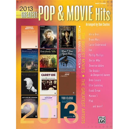 Alfred 2013 Greatest Pop   Movie Hits  Easy Piano