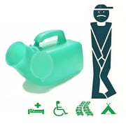 GETHOME Camping Travel Bottle Toilet With Lid Emergency Potty Scale Men Urinal Portable