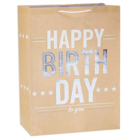 American Greetings Jumbo Happy Birthday Gift Bag with Foil](Children's Gift Bags)