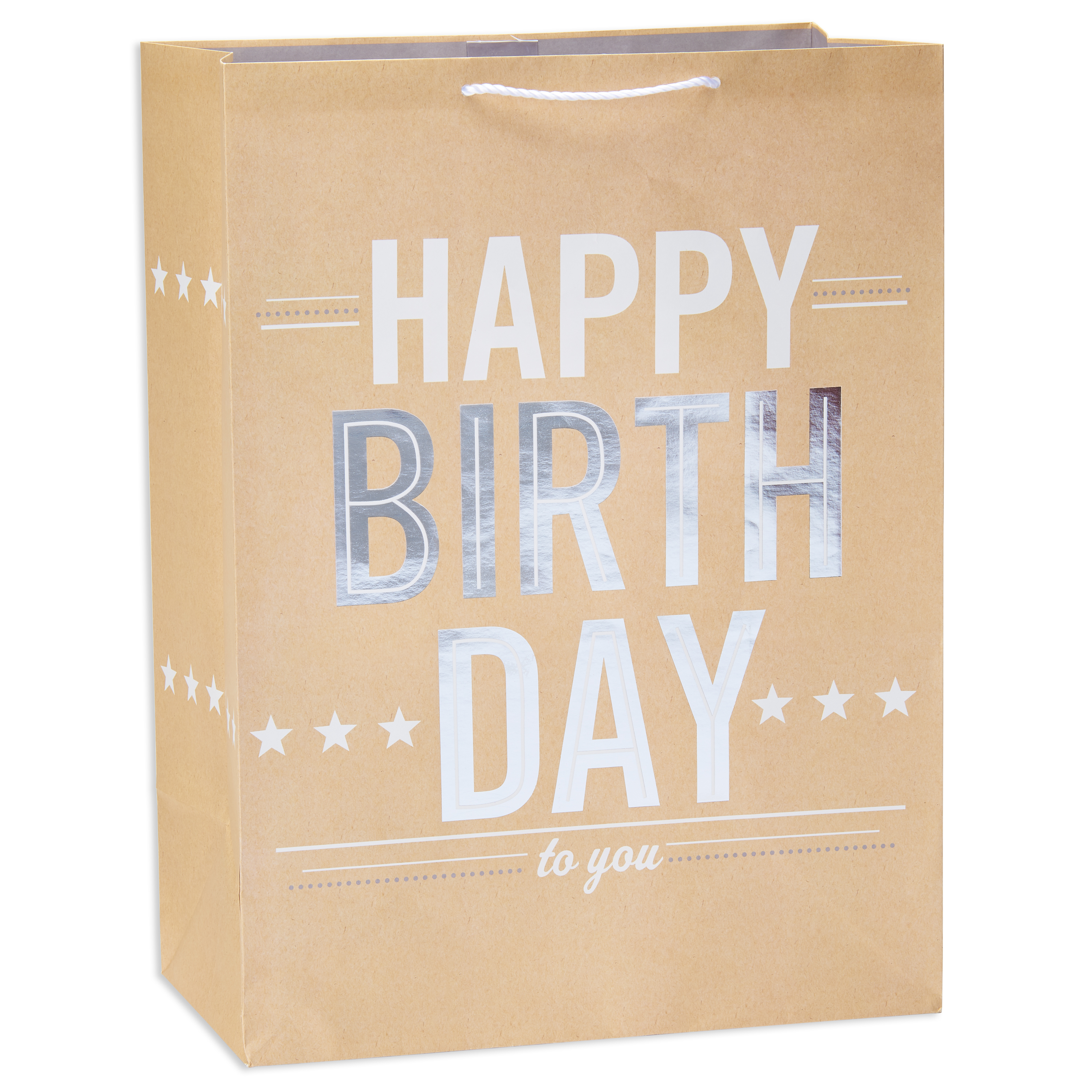 American Greetings Jumbo Happy Birthday Gift Bag with Foil