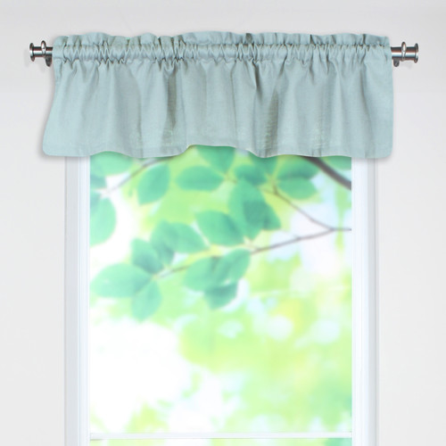 Brite Ideas Living Circa Solid Rod Pocket Tailored 54'' Curtain Valance
