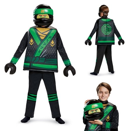 Boys' Lego Ninjago Movie Lloyd Deluxe Costume (Lloyd Garmadon Costume)