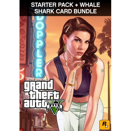 GTA V + Grand Theft Auto Criminal Enterprise Starter Pack + Whale Shark Card [Digital Download] (New Cars Gta 5 Halloween)