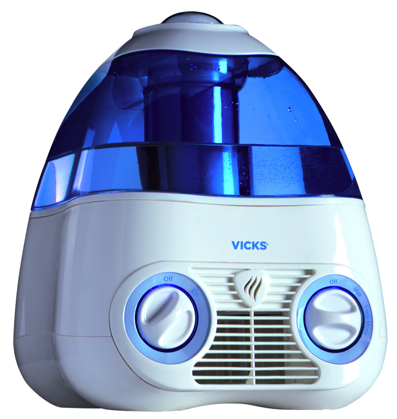 Vicks Starry Night Cool Moisture Humidifier, V3700, Blue