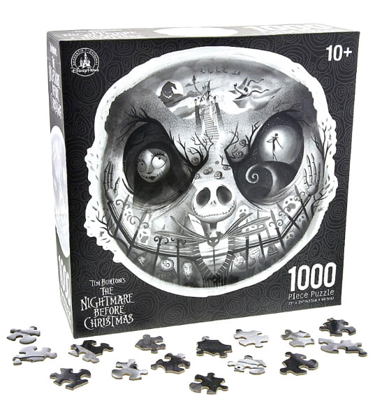 Tim Burton's The Nightmare Before Christmas Disney Parks 1000 Piece Jigsaw Puzzle by