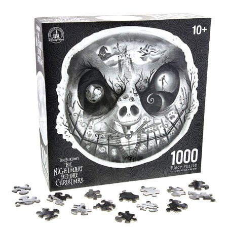 Tim Burton's The Nightmare Before Christmas Disney Parks 1000 Piece Jigsaw Puzzle