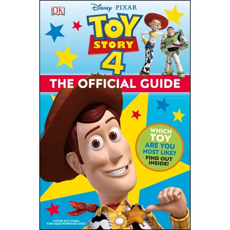 - Disney Pixar Toy Story 4 The Official Guide