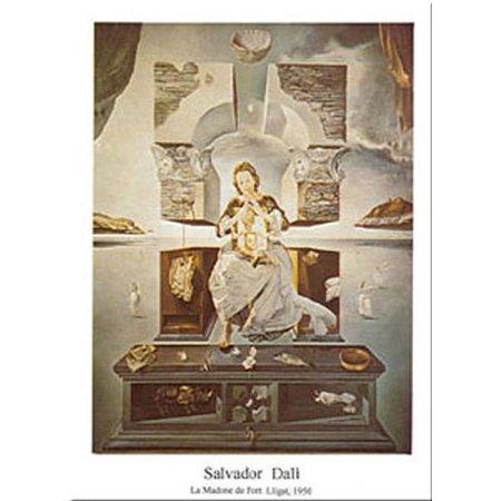 Madonna Di Port Lligat by Salvador Dali 31x24 Art Print Poster