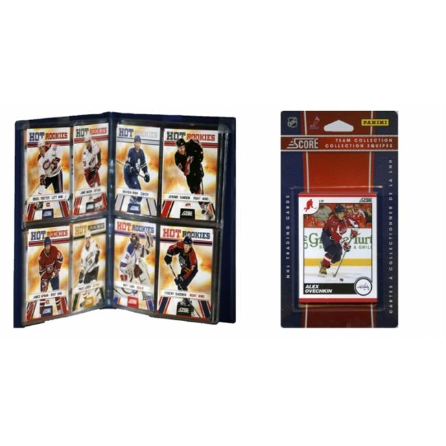 C & I Collectables 2010CAPSTS NHL Washington Capitals Licensed 2010 Score Team Set and Storage Album