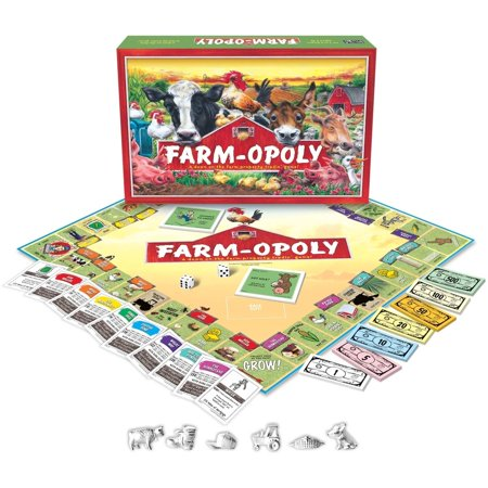 Farm Game (Farm-opoly Board Game)