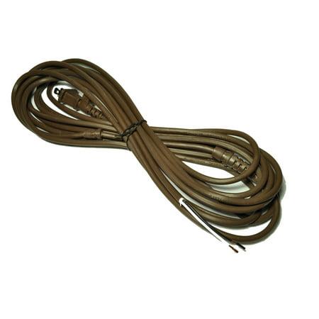 Se Powder - Rainbow Power Cord, 2/wire, Fits: Rainbow D4, D4C, & SE Models, 25 foot, color brown