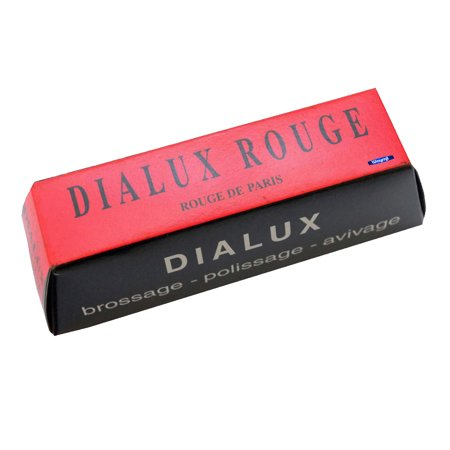RED ROUGE DIALUX POLISHING COMPOUND POLISH YELLOW GOLD & SILVER JEWELRY METALS