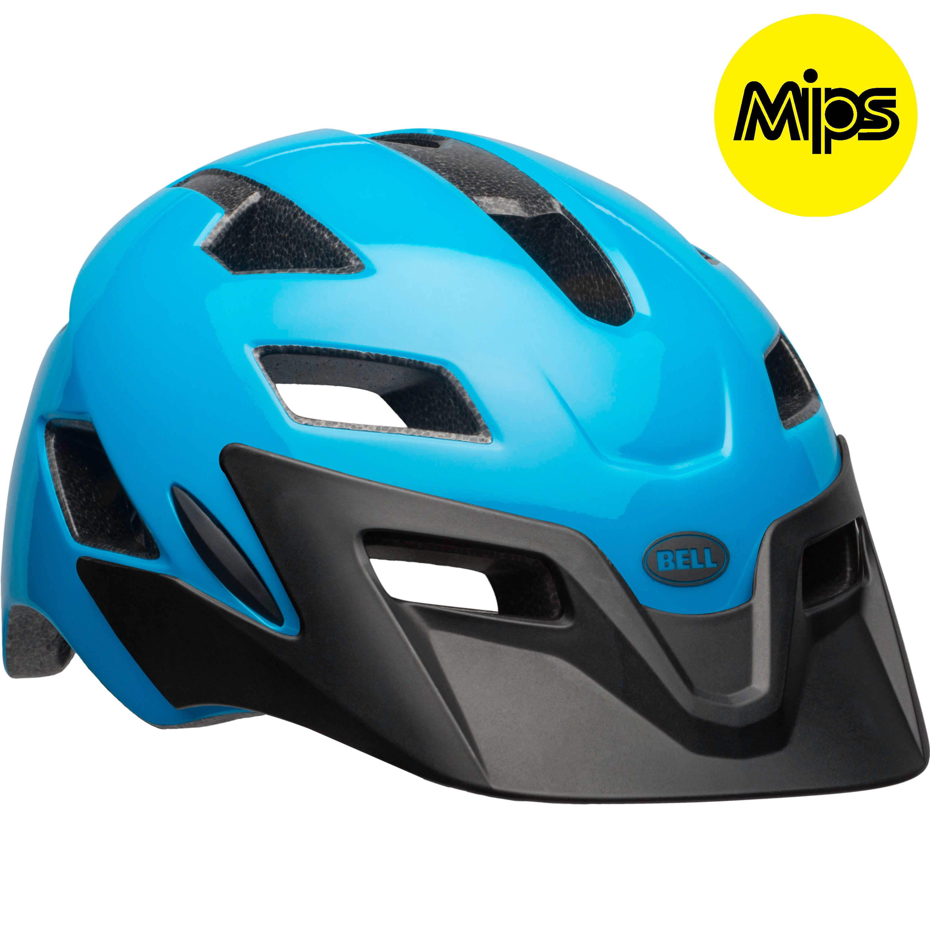 Bell Sports Bicycle Helmet Adult MIPS Equipped Terrain Neon Blue