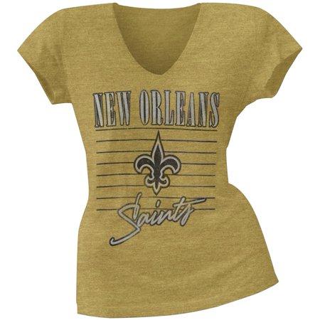 New Orleans Saints - Scrum Logo Premium Juniors T-Shirt - Large - Nfl.com Saints