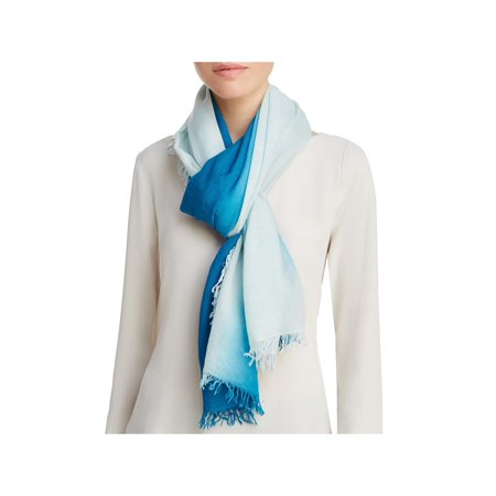 Eileen Fisher Womens Wool Blend Ombre Decorative Scarf