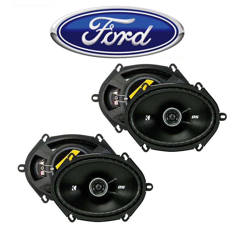 Fit Ford Five Hundred 2005-2007 Factory Speaker Upgrade Kicker (2) DSC68 Package