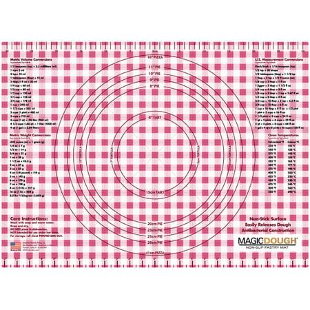 Magic Slice Gingham Dough Non-Slip Flexible Pastry Mat