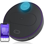 360 S6 Laser Navigation Smart Vacuum, Robot Vacuum and Mop Cleaner with SLAM Route Planning 2000Pa Suction Mopping Off-limit Setting