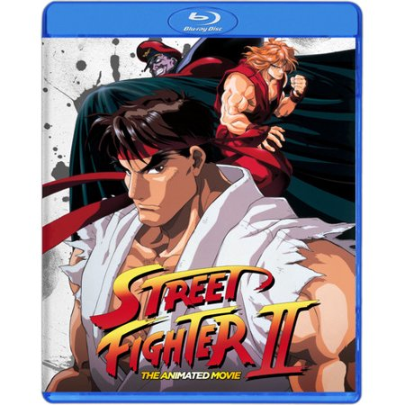Street Fighter II the Animated Movie - Animated Halloween Movies For Adults
