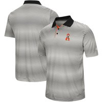 Oklahoma State Cowboys Colosseum Lesson Number One Polo - Gray