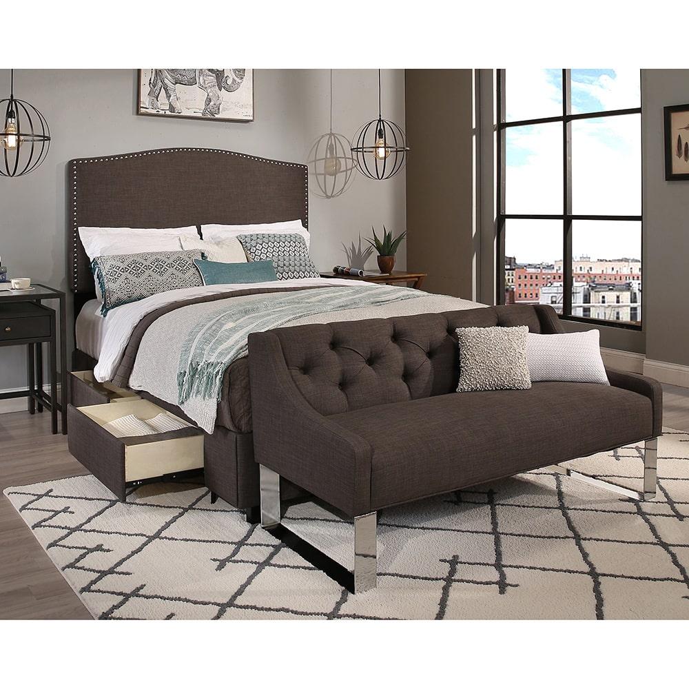 RDH Republic Design House King/Cal King Size Newport Grey...