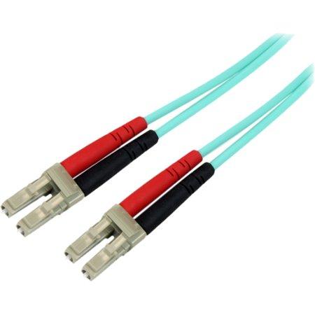 Aqua Cam (StarTech.com 2m 10Gb Aqua Multimode 50/125 Duplex LSZH Fiber Patch Cable )