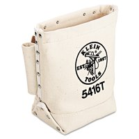 Klein Tools Bull-Pin and Bolt Bag with Tunnel Loop, Canvas