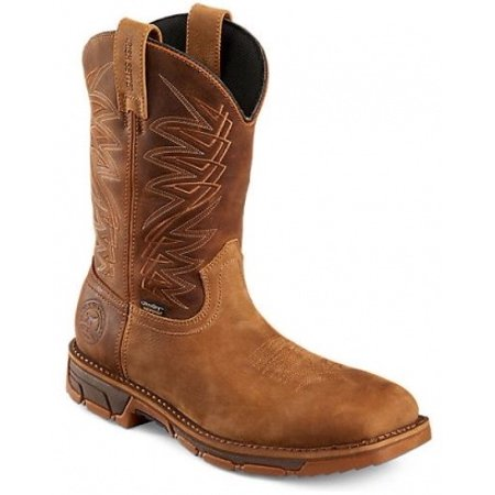 Irish Setter Marshall 83912 Boot, 11 Inch Pull, On, Steel Toe, Waterproof, EH (2272 Mens 11 Inch Pull On Boot)