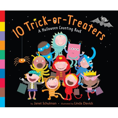 10 Trick-Or-Treaters: A Halloween Counting Book (Board Book) (10 Halloween Words)
