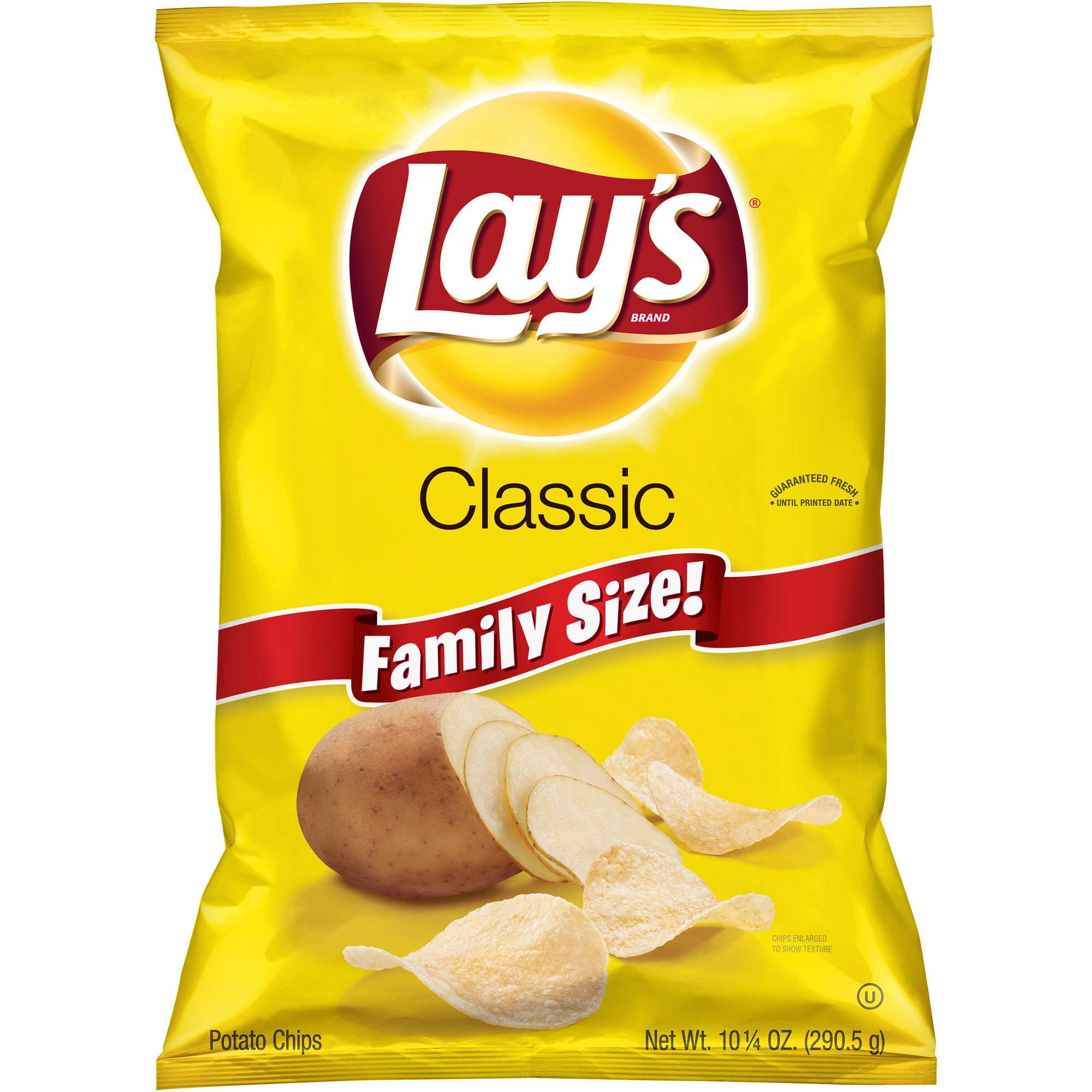 Lay's Classic Potato Chips, 10.25 oz