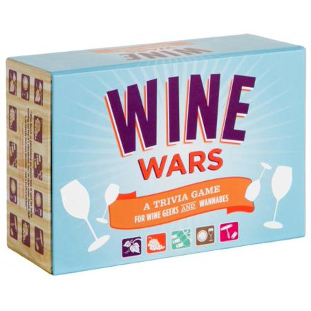 Wine Wars (Game for Adults, Trivia Games, Wine Gifts) : A Trivia Game for Wine Geeks and Wannabes](Halloween Trivia Adults)