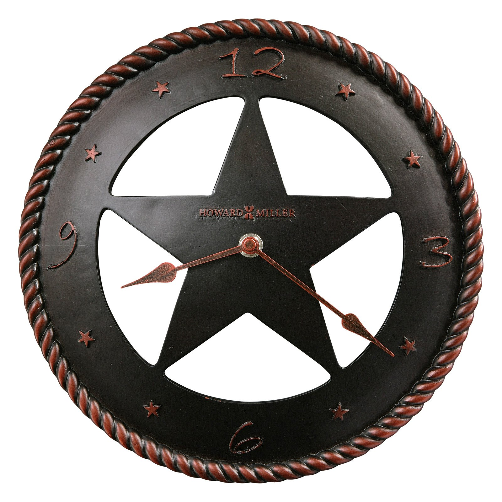 Howard Miller 625-445 Maverick 11-in. Wall Clock by Howard Miller