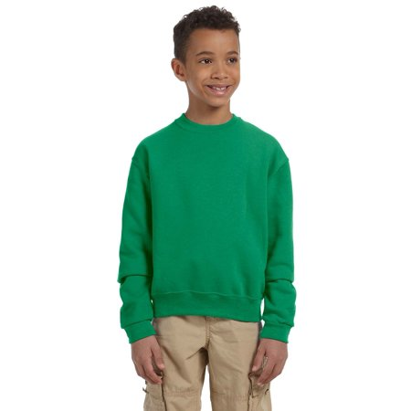 Jerzees Pullover Sweatshirt 562B Youth 8 oz NuBlend Crew