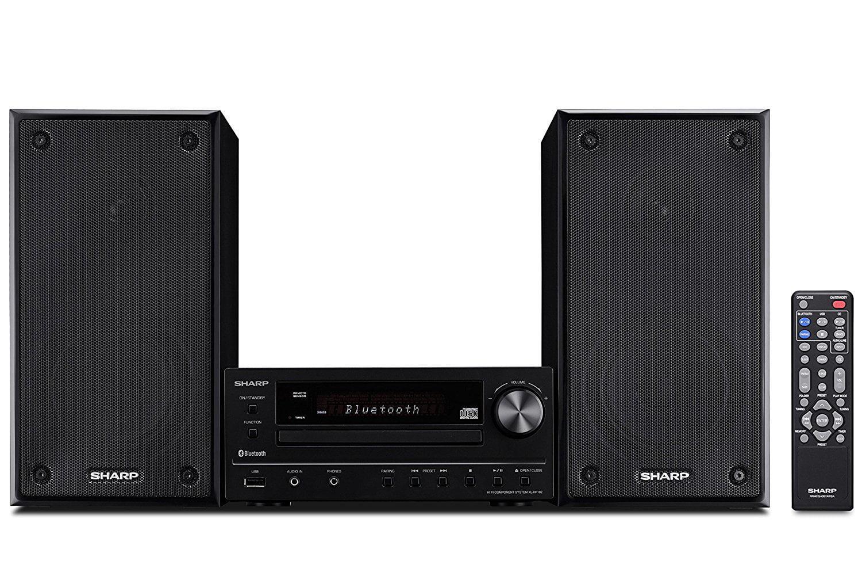 Sharp Bluetooth Hi-Fi Home Audio Stereo Sound Micro System Cd Player by Sharp