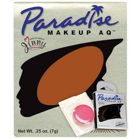 Paradise AQ Professional Single Refill .25oz (7g) Cake Makeup, Foxy Orange